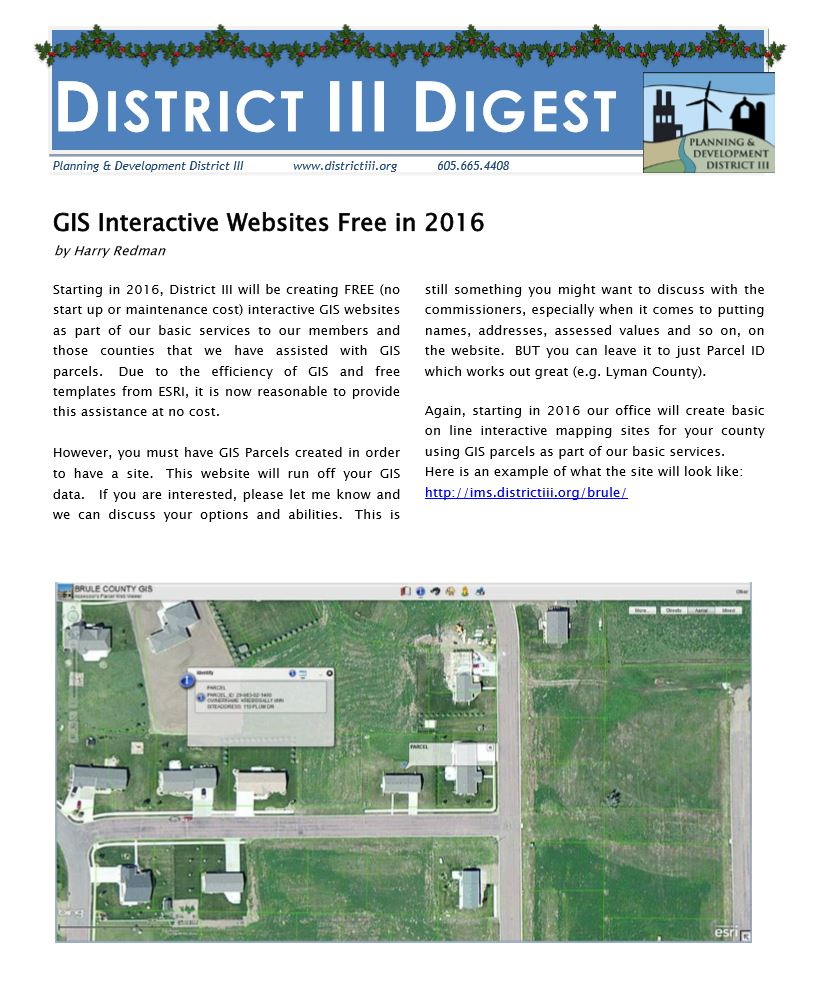 District III Digest